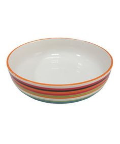 Look what I found on #zulily! Stripe Serving Bowl by Omniware Inc.  #zulilyfinds