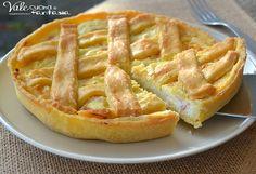 Crostata salata con ricotta e prosciutto cotto