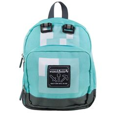 Minecraft Childrens/kids Official Diamond Mini Backpack for sale online Suitcase Backpack, Jansport Backpack, Mini Backpack, Laptop Backpack, Backpack Bags, Minecraft Backpack, Boys Backpacks, Backpacks For Sale, Shopping