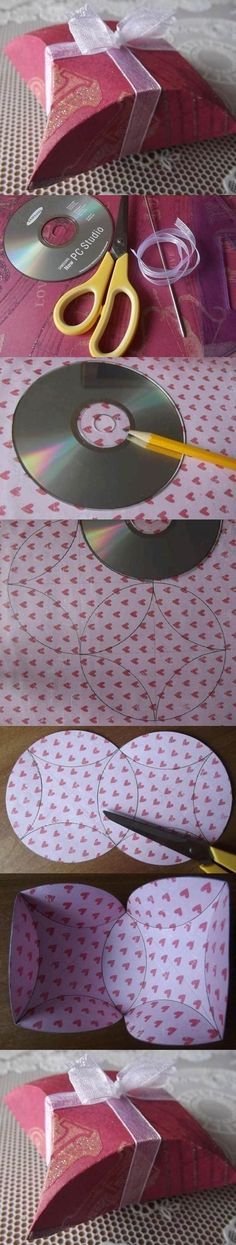 DIY Easy Gift Package with CD | iCreativeIdeas.com Follow Us on Facebook --> https://www.facebook.com/icreativeideas
