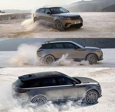 Velar Range Rover Now it's Possible to Buy the Car You Want at the Price You Can Afford - Without all the Headaches and the Hassle of Negotiating. Range Rover Evoque, Range Rover Car, Range Rovers, Super Sport, Super Cars, M Bmw, Automobile, Range Rover Classic, Jaguar Land Rover