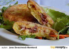 Smažené bramborové třepanky recept - TopRecepty.cz Gnocchi, Tacos, Potatoes, Mexican, Treats, Ethnic Recipes, Sweet Like Candy, Goodies, Potato