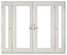 Vented Sidelight Patio Doors   Neuma Doors   Manufacturer Of Fiberglass Patio  Doors
