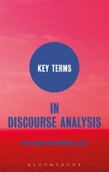 Media of Key Terms in Discourse Analysis
