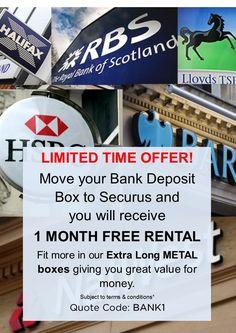 Securus Safety Deposit Box Offer