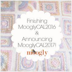 Finishing 2016 and Announcing the Moogly CAL Crochet Squares, Crochet Motif, Free Crochet, Crochet Patterns, Crochet Afghans, Crochet Blankets, Granny Squares, Crochet Along 2017, How To Make Iron