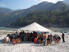 Beach Camping and River Rafting Packages - Great Himalayan Expeditions Camps http://www.raftingatrishikesh.in/camping-and-river-rafting-packages-at-rishikesh