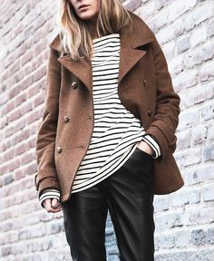 Camel, breton and leather