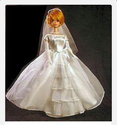 This is the wedding dress my Barbie wore.