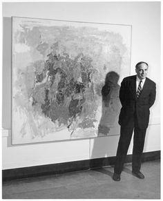 Caught on Camera mayo 1957: Philip Guston Philip Guston (estadounidense, nacido Canadá, 1913-1980