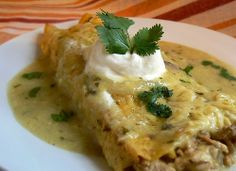 pork enchiladas - tried and tested.. husband approved!