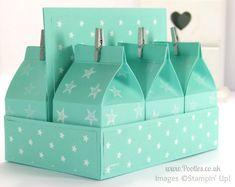 réutilisez vos briques de laits ...