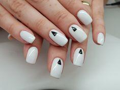 Manichiura - We Beauty Nailed It, White Nails, Beauty, Ongles, Beleza, White Nail, It Works