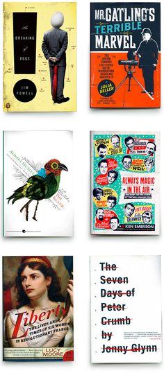 awesome book design by Kulick Design via Design Work Life