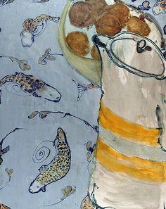 David Konigsberg Tablecloth from Tokyo 2010