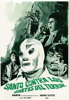 Santo contra los jinetes del terror (1970) de René Cardona - tt0069221