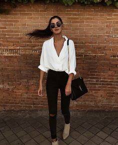 35 Stylish Streetwear Outfits For Women To Look Gorgeously Fashionable - Page 3 of 3 - Style O Check Mode Outfits, Casual Outfits, Fashion Outfits, Womens Fashion, Fashionable Outfits, Fashion Trends, Office Outfits, Latest Fashion, Fashion Ideas