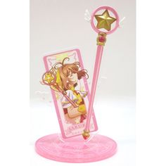 ,Cardcaptor Sakura Acryl Accessory Stand Sakura Card,Collectible listed at CDJapan! Get it delivered safely by SAL, EMS, FedEx and save with CDJapan Rewards!