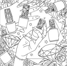 Images in Vlada's post Barbie Coloring Pages, Coloring Book Art, Cute Coloring Pages, Coloring Sheets, Free Coloring, Printable Adult Coloring Pages, Book Projects, Illustrations, Art Lessons