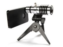12x Zoom Telephoto Camera Lens for iPhone & Samsung Galaxy devices. From www.iToys.co.za Latest Camera, Camera Lens, Binoculars, Apple Iphone, Lenses, Geek Stuff, Samsung Galaxy, Geek Things