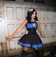 Starfleet Uniform -Star Trek: Next Gen- Pianfore by *DarlingArmy on deviantART Star Trek Cosplay, Epic Cosplay, Cosplay Girls, Cosplay Costumes, Cosplay Ideas, Costume Ideas, Star Trek Wedding, Star Trek Crew, Funny Stuff