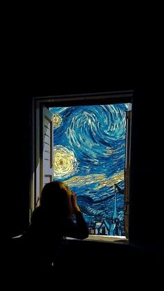 Wallpaper 593 - Best of Wallpapers for Andriod and ios Van Gogh Wallpaper, Iphone Background Wallpaper, Starry Night Iphone Wallpaper, Aesthetic Pastel Wallpaper, Aesthetic Wallpapers, Surrealism Drawing, Van Gogh Art, Aesthetic Art, Vincent Van Gogh