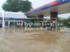 Here's to share my typhoon experience in the Philippines. Check out the videos in the link too!