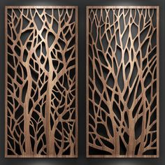 Laser Cut Screens, Laser Cut Panels, Wooden Wall Design, Wood Wall Art, Gate Design, Door Design, Pattern Wall, Jaali Design, Cnc Cutting Design