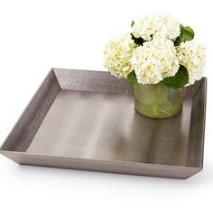 A30288 Lux Silver Tray