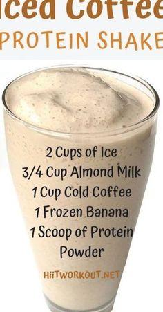 High Protein Smoothies, Protein Smoothie Recipes, Protein Powder Recipes, Low Calorie Smoothies, Protein Fruit, Low Carb Shakes, High Calorie Protein Shakes, Paleo Vegan, Chocolate Protein Shakes