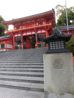 京都 八坂神社 西楼門 2015.06.24