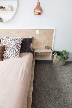 Feltex carpets | The Block NZ | Alex and Corban | Master Bedroom | Get the look…