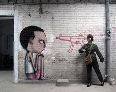 street-art de Seth !