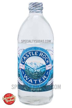 Castle Rock Premium Mountain Spring Water 500ml Glass Bottle