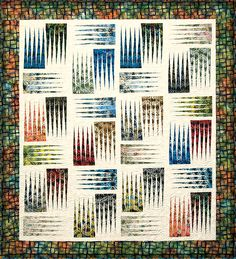 Treat Strip Weeping Willow - Stepping Stones Quilt - by Judy Niemeyer, Quiltworx Big Block Quilts, Strip Quilts, Quilt Blocks, Hancocks Of Paducah, The Quilt Show, Keepsake Quilting, Foundation Paper Piecing, Quilt Kits, Square Quilt