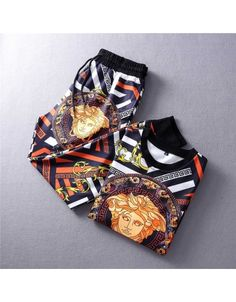 Replica Versace Tracksuits For Men #609427 $94.90 USD for Wholesale Versace Slippers, Versace Shoes, Balenciaga Shoes, Versace Jacket, Versace T Shirt, Gucci Mens Sneakers, Versace Fashion, Mens Sleeve, Fashion Belts