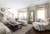 Timeless Neutral Living Room - Photos by Jeanne Campana Design | Wayfair