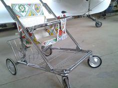 stroller vintage antique retro peterson high chair seat baby walker
