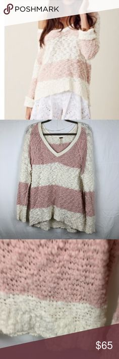 Free people shaggy songbird sweater medium great condition. So comfy and soft! Free People Sweaters