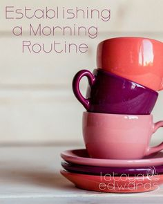 Do you ever wake up and feel like you're already behind? Establishing a morning routine is a great way for busy moms to start the day off right. I'm sharing 5 things that help me start my day off right and feel productive!