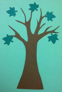 Five little leaves flannel