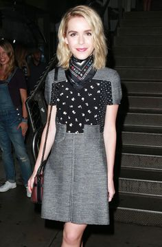 Kiernan Shipka at Friends of the High Line's 5th annual summer party on the High Line in New York, June 23, 2015 140931