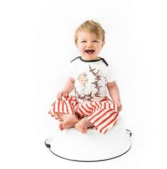 4a67a78b81e Retro Sailor and Birds Organic One Piece with Colored Trim. Great bodysuit  for baby