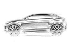 Volkswagen T-ROC concept and production car pics - pictures Volkswagen, Vw T, Car Design Sketch, Car Sketch, Portfolio Design, Design Autos, Zbrush, Suv Models, Auto Motor Sport