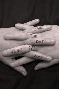 Save the date idea-love it-add a guitar pick. oops still gotta order them