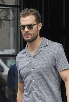 EXCLUSIVE: Jamie Dornan signs 'Fifty Shades of Grey' book and takes photos with…