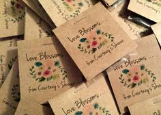 Personalized MINI Floral Bridal Shower Favors Flower Seed Packet Favors Sow in Love Wildflower Seeds Wedding Favors Let Love Grow Seed Wedding Favors, Wedding Favors Cheap, Wedding Ideas, Cheap Favors, Wedding Invitations, Bridal Shower Flowers, Bridal Shower Favors, Flower Shower, Party Favors
