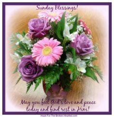 Good morning sister have a Lovely Sunday, God bless♥★♥.
