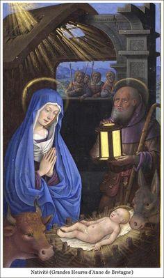 Nativité (Grandes Heures d'Anne de Bretagne)