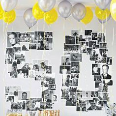 Darling idea for adult birthday party
